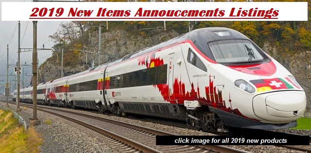 2019 New Items Announcements