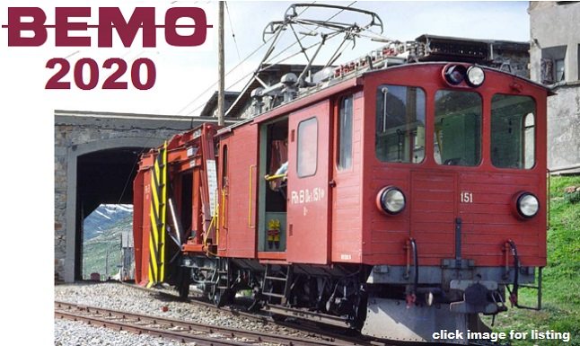 BEMO 2020 New Item Releases
