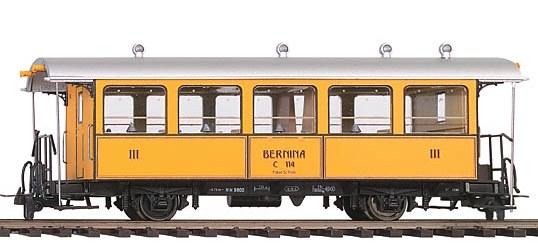 Spur H0m BEMO 3238164 Historischer Zweiachser C.114 La Bucunada der RhB