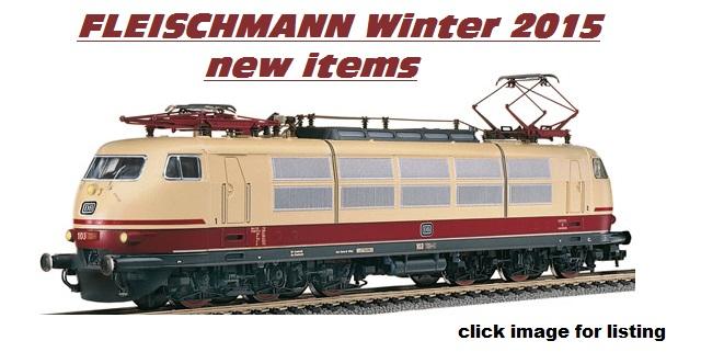 Winter 2015 FLEISCHMANN new items