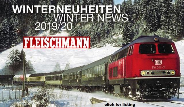 FLEISCHMANN Winter 2019 New Item Releases