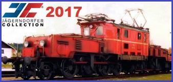 JÄGERNDÖRFER 2017 HO + N Scale Models