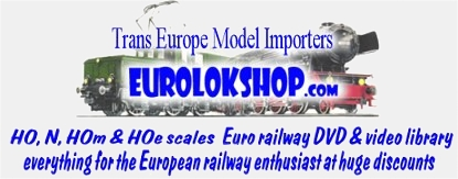 Trans Europe Enterprises Model Importes & EUROLOKSHOP.com : The company biography from then to now