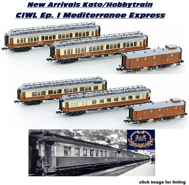 CIWL Epoch I  Mediterranee Express sets