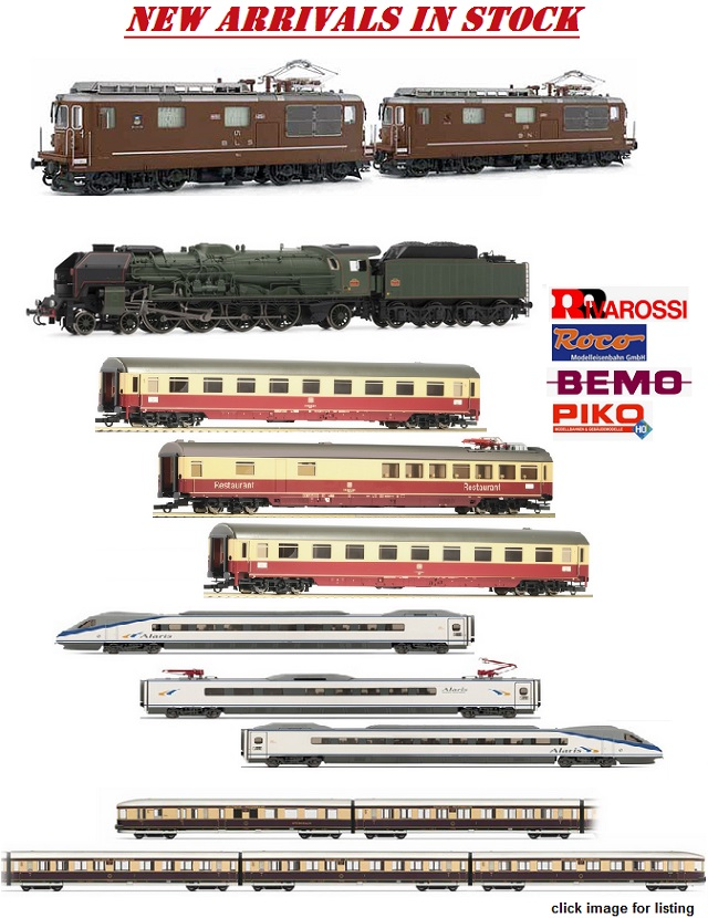 New Arrivals at Eurolokshop *** Rivarossi BLS Re4/4 locomotives