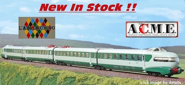 "NEW ARRIVAL: ACME 70069 FS 4-part Electric Train ETR 250 ""Arlecchino"""