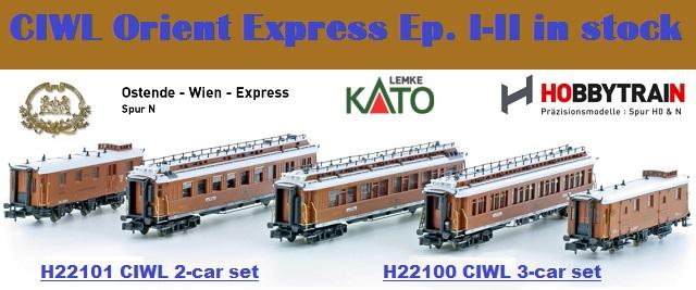 New arrivals CIWL Orient Express Era I - II