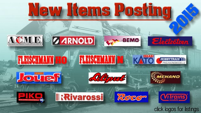 New Items Postings 2015