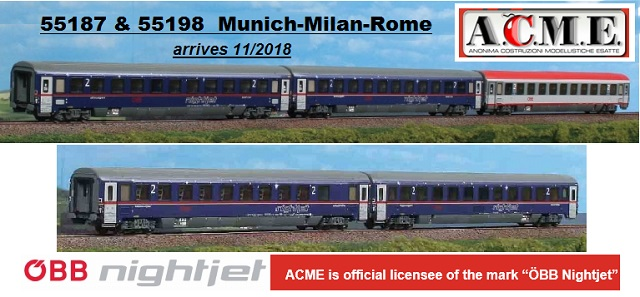 ACME 55187 55198  NightJet sets