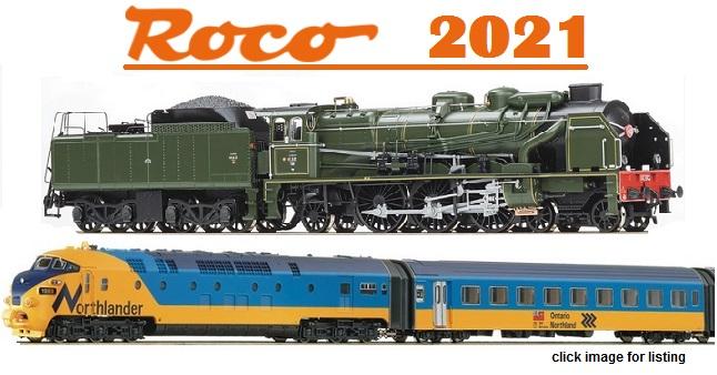 ROCO 2021 New Item Releases